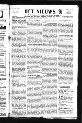 Schoonhovensche Courant 1945-07-27