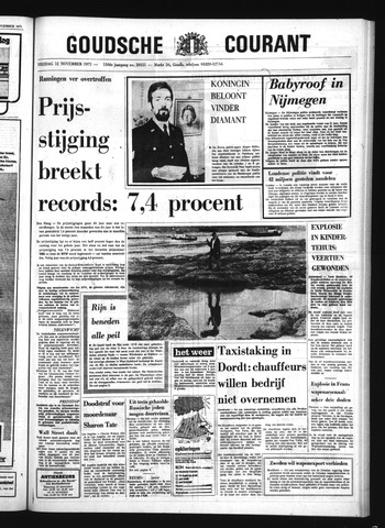Goudsche Courant 1971-11-12