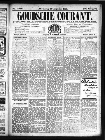 Goudsche Courant 1911-08-30