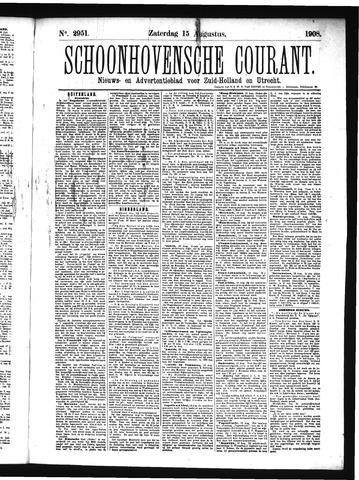 Schoonhovensche Courant 1908-08-15
