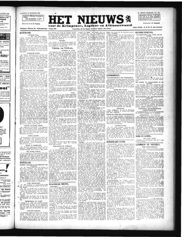 Schoonhovensche Courant 1946-08-12