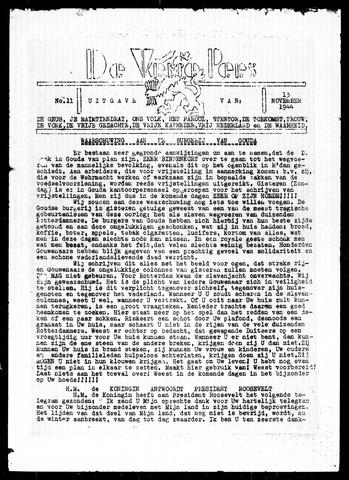 De Vrije Pers 1944-11-13