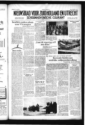 Schoonhovensche Courant 1957-03-08