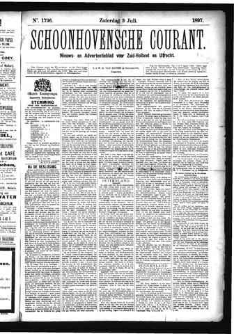 Schoonhovensche Courant 1897-07-03