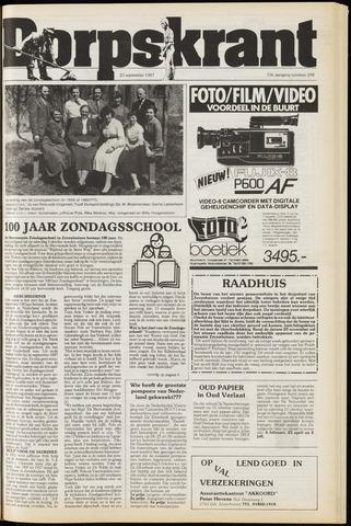 Dorpskrant 1987-09-23