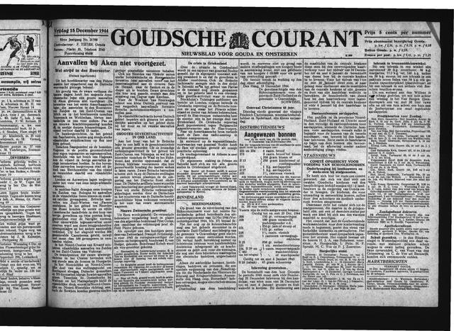 Goudsche Courant 1944-12-15