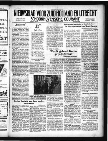 Schoonhovensche Courant 1950-12-04