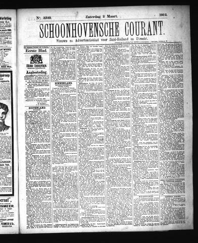 Schoonhovensche Courant 1912-03-02