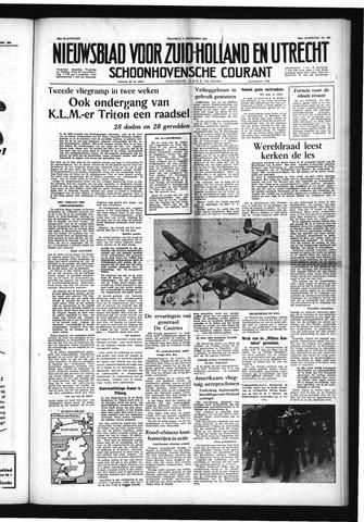 Schoonhovensche Courant 1954-09-06