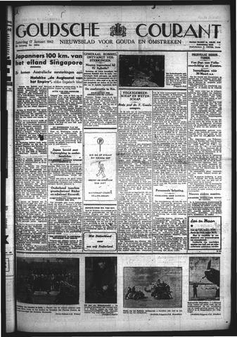 Goudsche Courant 1942-01-17