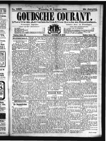 Goudsche Courant 1911-08-16
