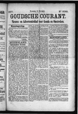 Goudsche Courant 1877-11-21