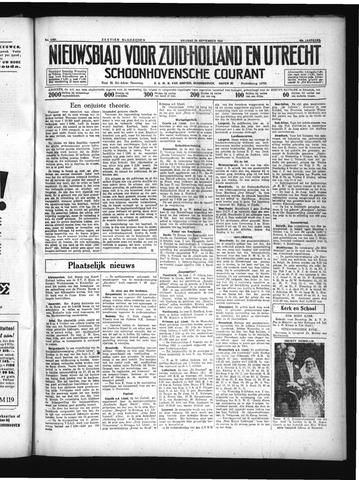 Schoonhovensche Courant 1934-09-28