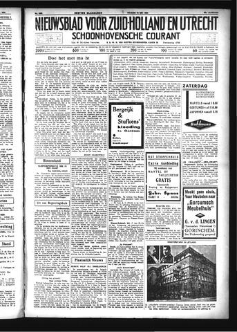 Schoonhovensche Courant 1934-05-18