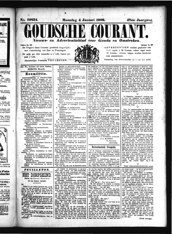 Goudsche Courant 1909-01-04