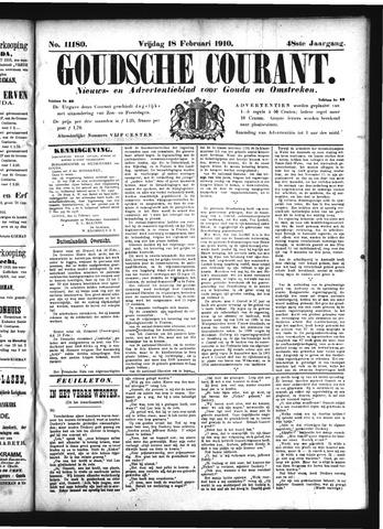 Goudsche Courant 1910-02-18