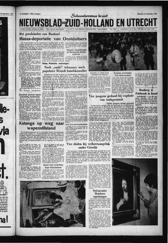 Schoonhovensche Courant 1961-09-18