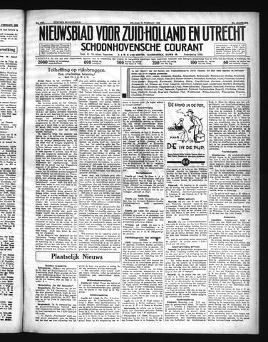 Schoonhovensche Courant 1935-02-22