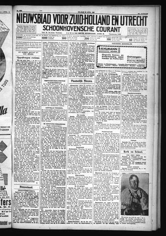 Schoonhovensche Courant 1931-04-10