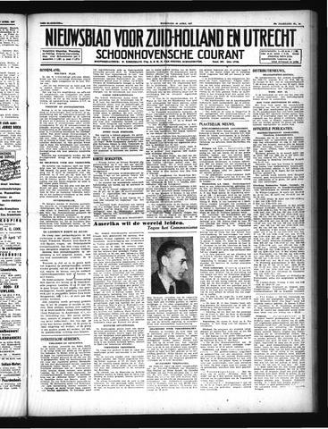 Schoonhovensche Courant 1947-04-23