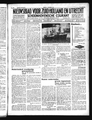 Schoonhovensche Courant 1939-12-08