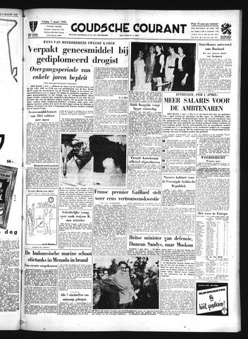 Goudsche Courant 1958-03-07