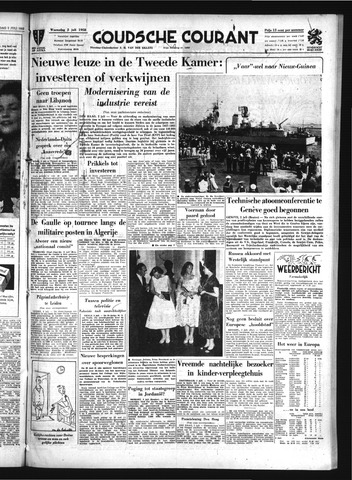 Goudsche Courant 1958-07-02