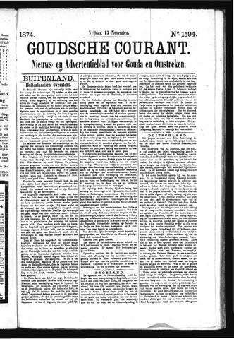 Goudsche Courant 1874-11-13