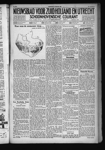 Schoonhovensche Courant 1930-08-27