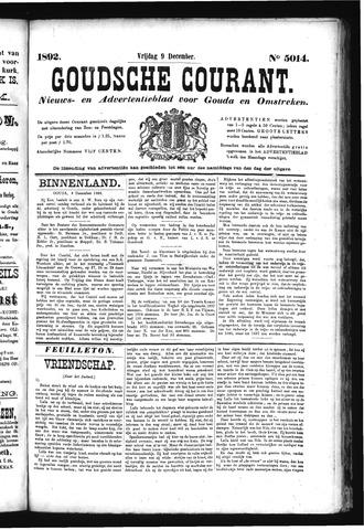 Goudsche Courant 1892-12-09
