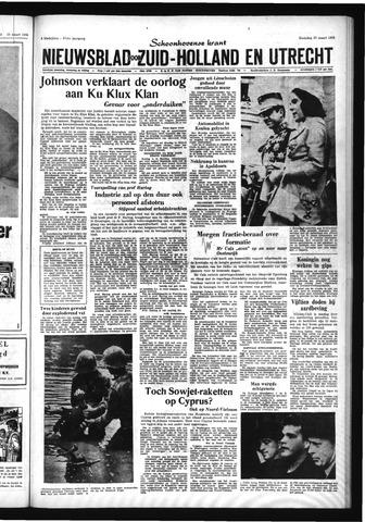Schoonhovensche Courant 1965-03-29