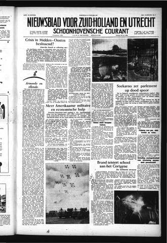Schoonhovensche Courant 1957-01-16