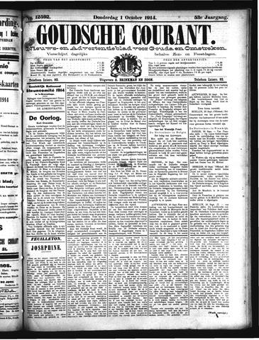 Goudsche Courant 1914-10-01