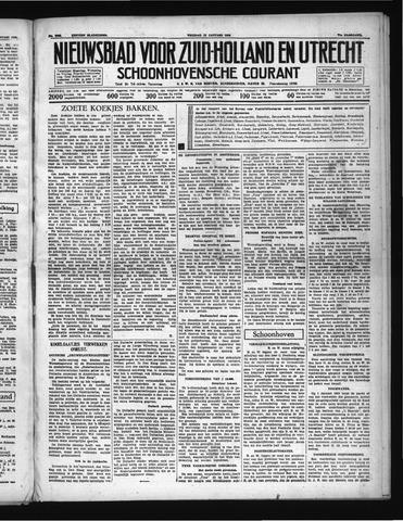 Schoonhovensche Courant 1939-01-13