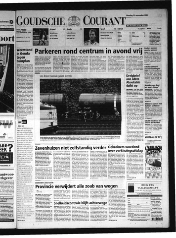 Goudsche Courant 2004-11-23