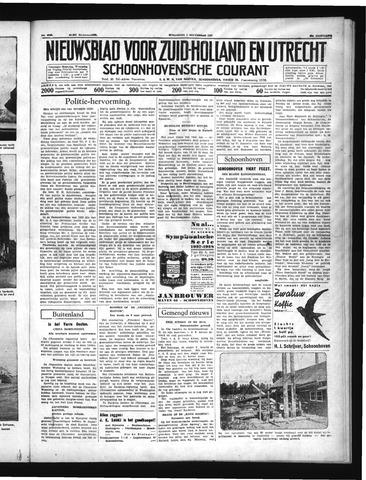 Schoonhovensche Courant 1937-09-01