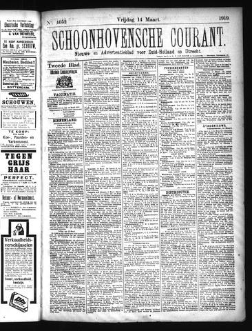 Schoonhovensche Courant 1919-03-14