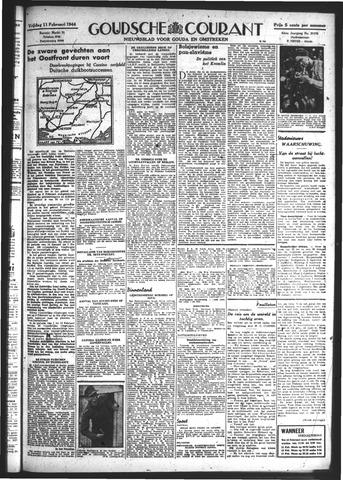 Goudsche Courant 1944-02-11
