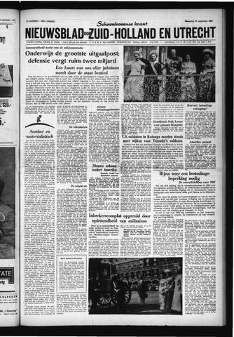 Schoonhovensche Courant 1961-09-20