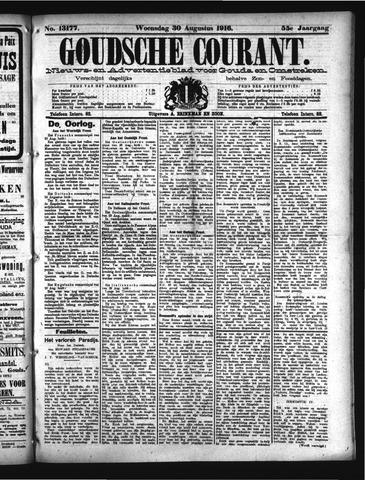 Goudsche Courant 1916-08-30