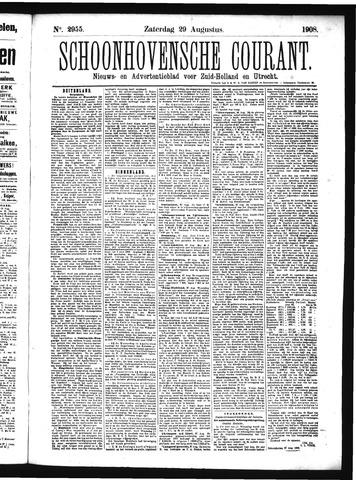 Schoonhovensche Courant 1908-08-29