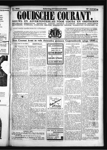 Goudsche Courant 1934-01-27