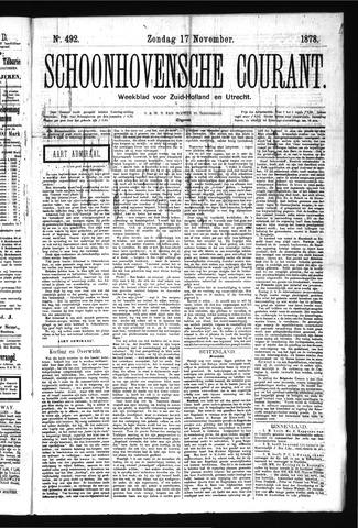 Schoonhovensche Courant 1878-11-17
