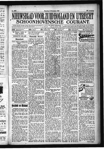 Schoonhovensche Courant 1928-11-12