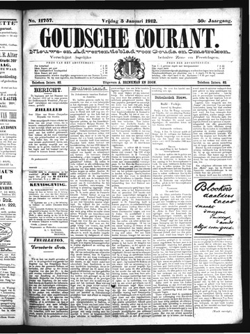 Goudsche Courant 1912-01-05