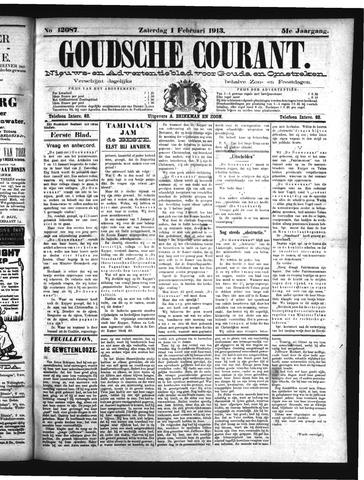 Goudsche Courant 1913-02-01