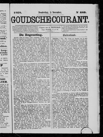 Goudsche Courant 1868-11-05