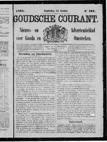 Goudsche Courant 1863-10-15