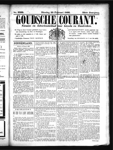 Goudsche Courant 1896-02-25