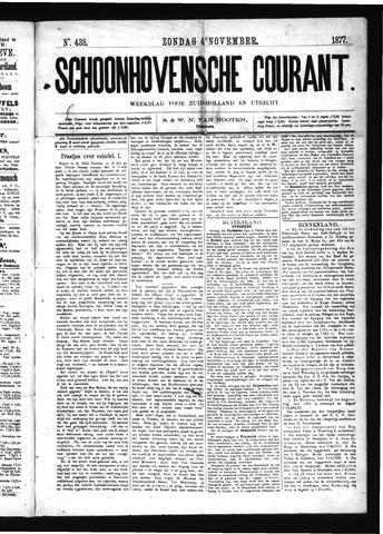 Schoonhovensche Courant 1877-11-04
